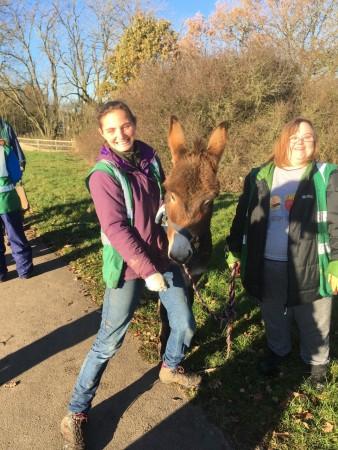 charlotte-samantha-and-donkey