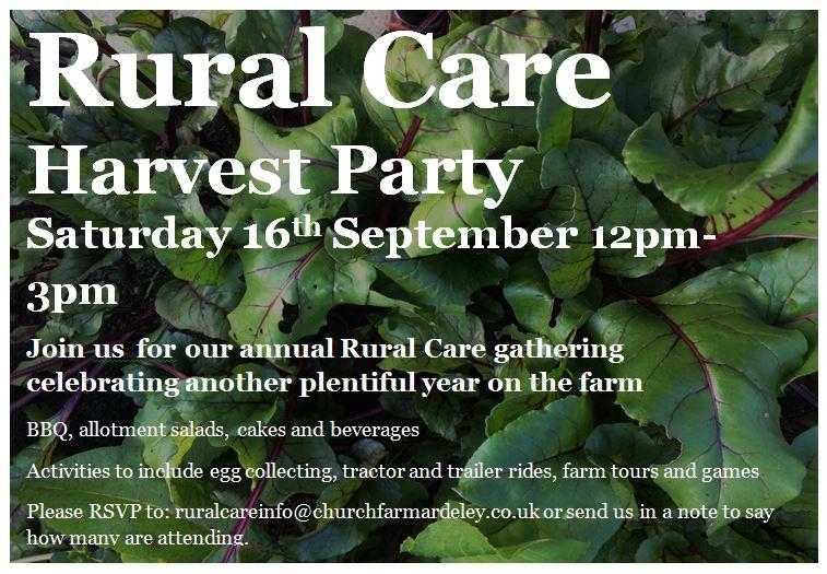 Harvest Party Invite